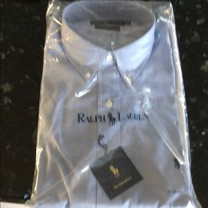 Ralph Lauren Blue Dress Shirt